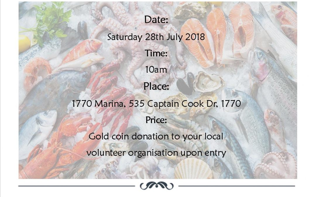 Seafood festival plus Reef Tour